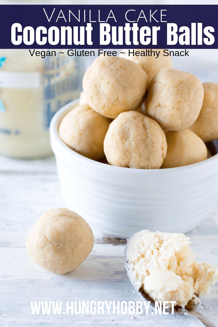 coconut butter energy balls