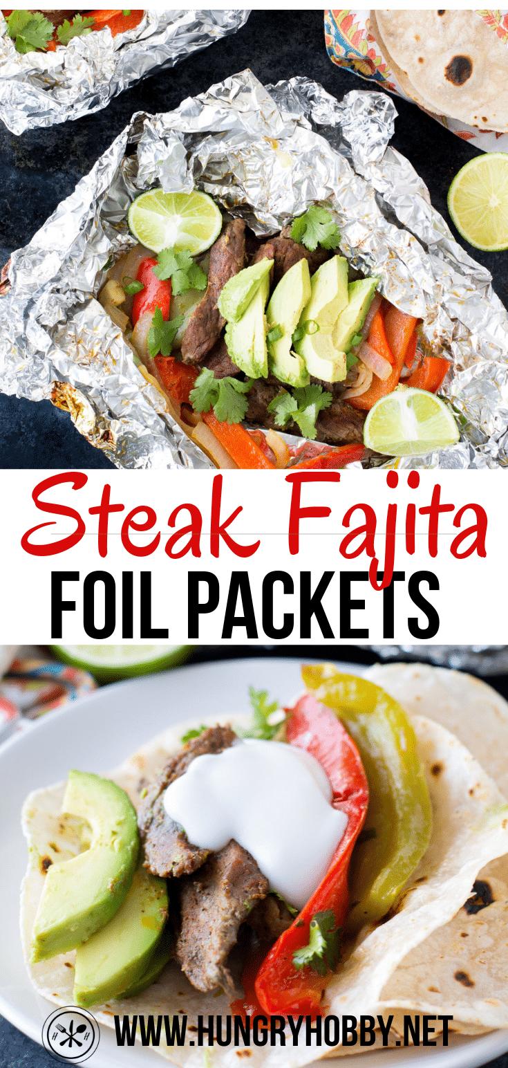 steak fajita foil packets