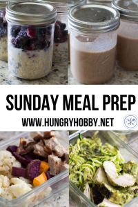 If there is one thing that keeps me on track during the week it's meal prep! By popular demand, I'm sharing a meal prep recap for our Sunday meal prep! Registered Dietitian, Dietitian, Meal Prep, Lunch Meal Prep, Meal Prep for Weight Loss, Healthy eating, healthy living, meal prep ideas, gluten free, dairy free, top 8 free