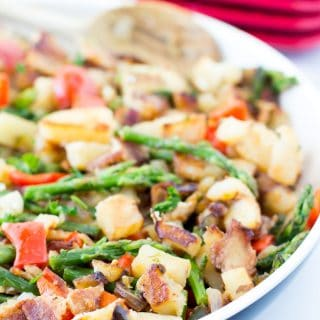 jalapeno bacon potato skillet