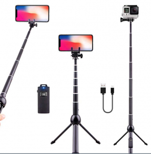 phone stand and selfie stick