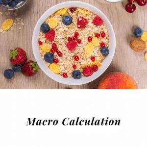 oatmeal bowl macros