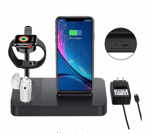apple charging stand