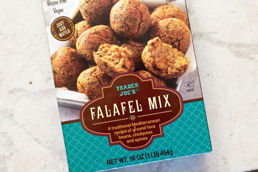 Trader Joe's Falafel Mix