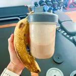 Vegan Protein Shake and Banana Post Workout Fuel Day In the Life With an 8 Month Old