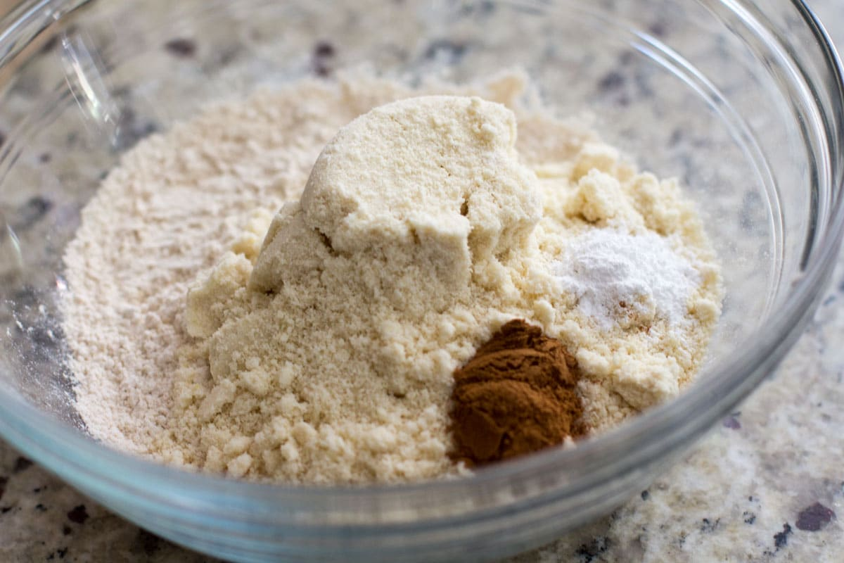 dry ingredients how to make baby muffins