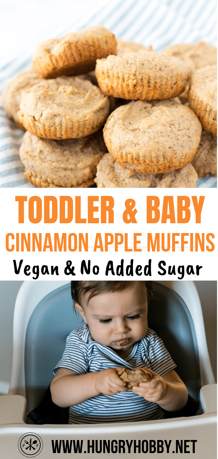 healthy baby and toddler muffins