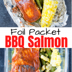 salmon foil packet