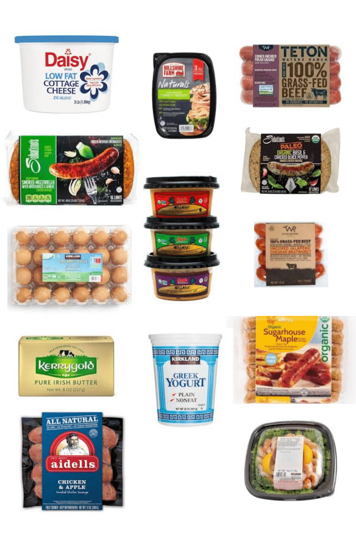 costco healthy food cold case
