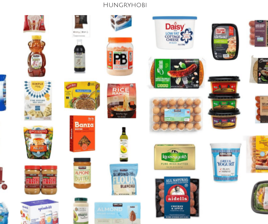 Our Costco Healthy Food Grocery List - Hungry Hobby