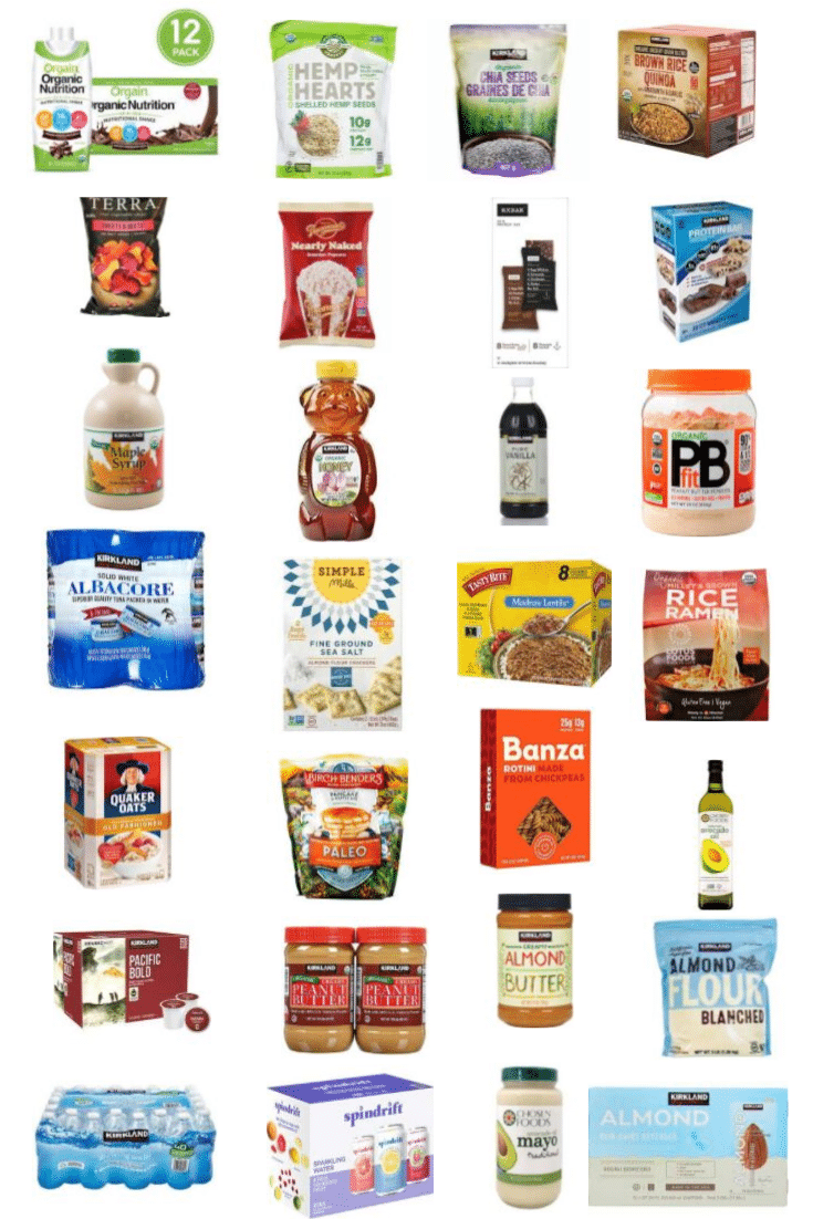 costco healthy food pantry items