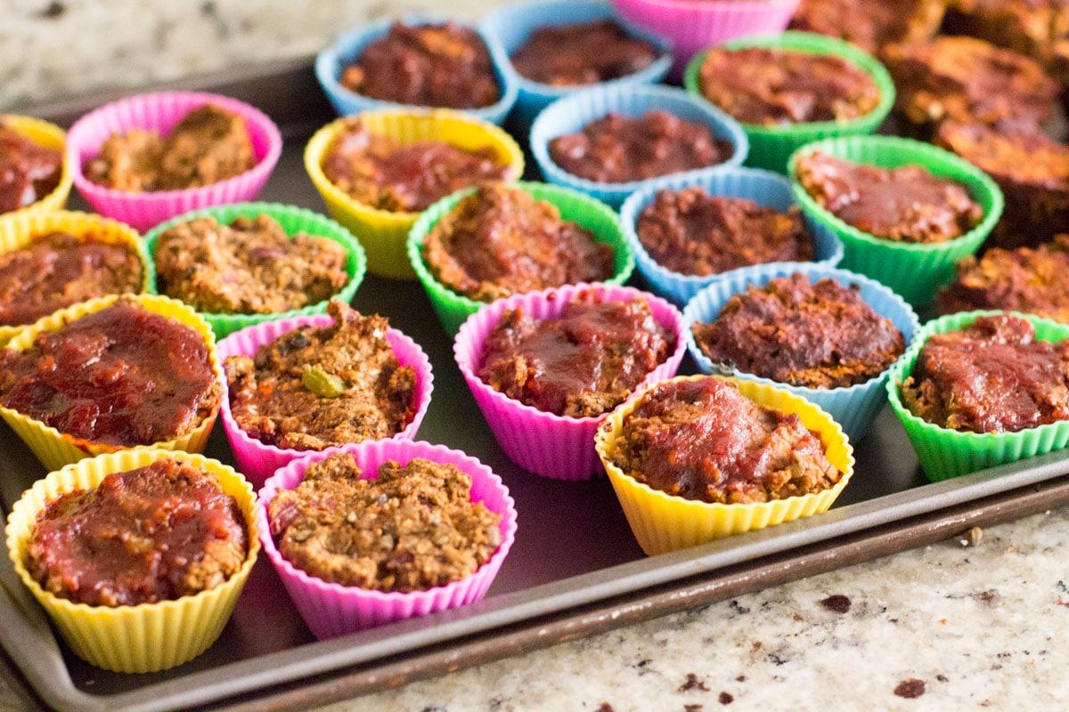 meal prep lentil muffins