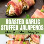 bacon-wrapped stuffed jalapeños