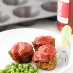 baby led weaning meatloaf muffin