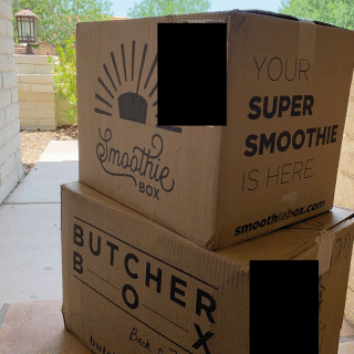 smoothiebox and butcherbox
