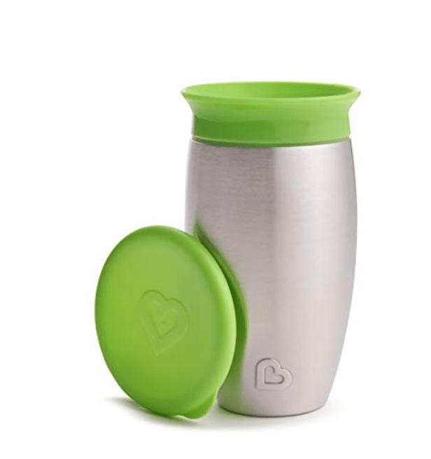 munckin stainless steel 360 cup