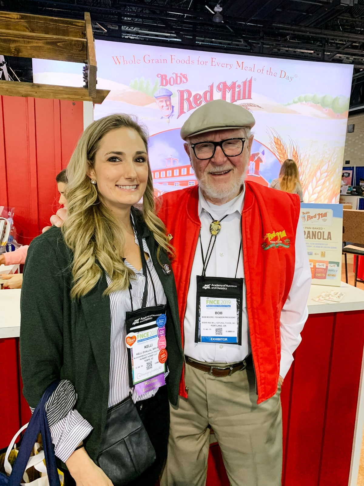 FNCE 2019 -bobs red mill meeting bob