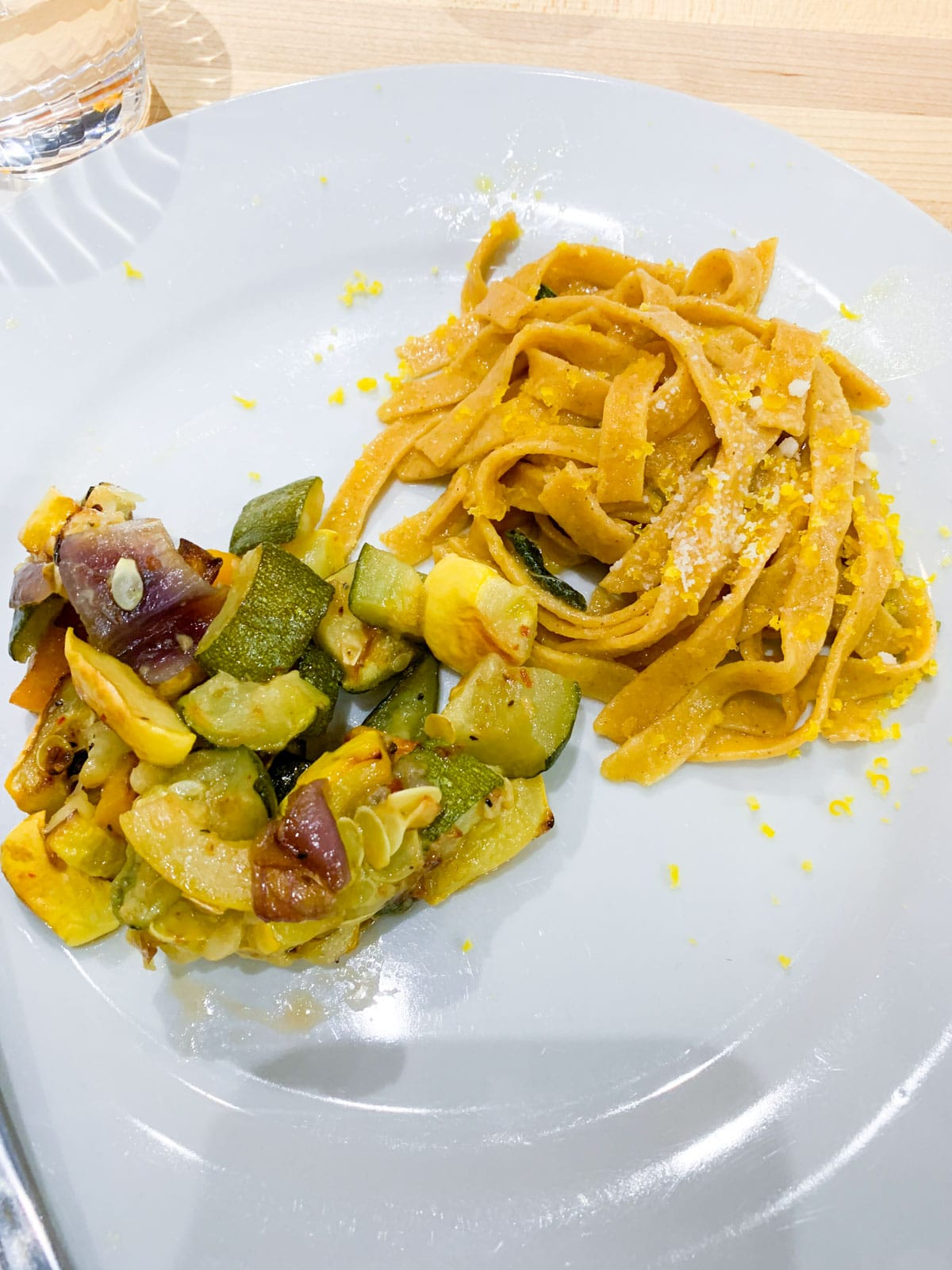 FNCE 2019 - egg nutrition center lunch =- pasta