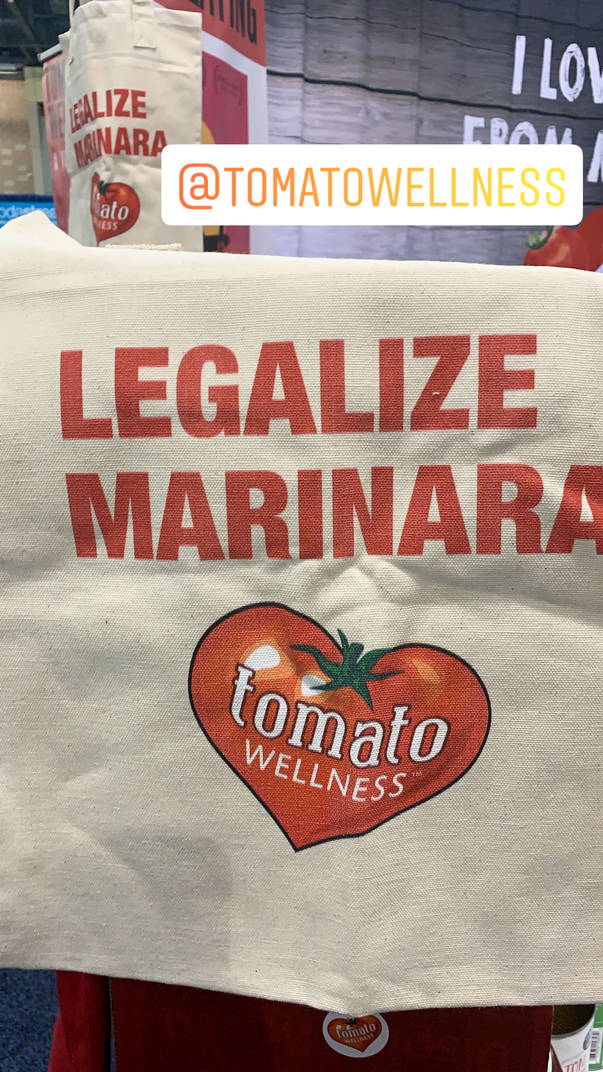 FNCE 2019 - legalize marinara - tomato wellness