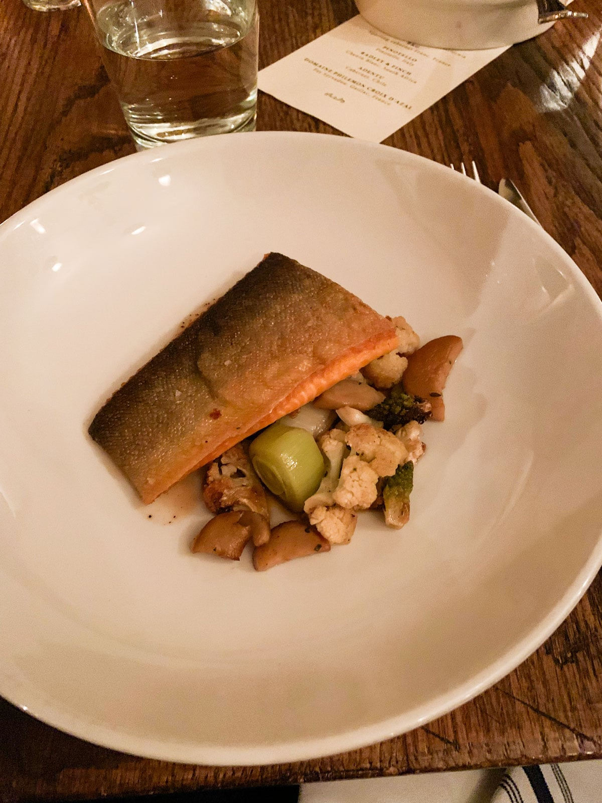 FNCE 2019 - salmon vegetables - SNP event