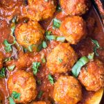 crockpot turkey meatballs recipe photo