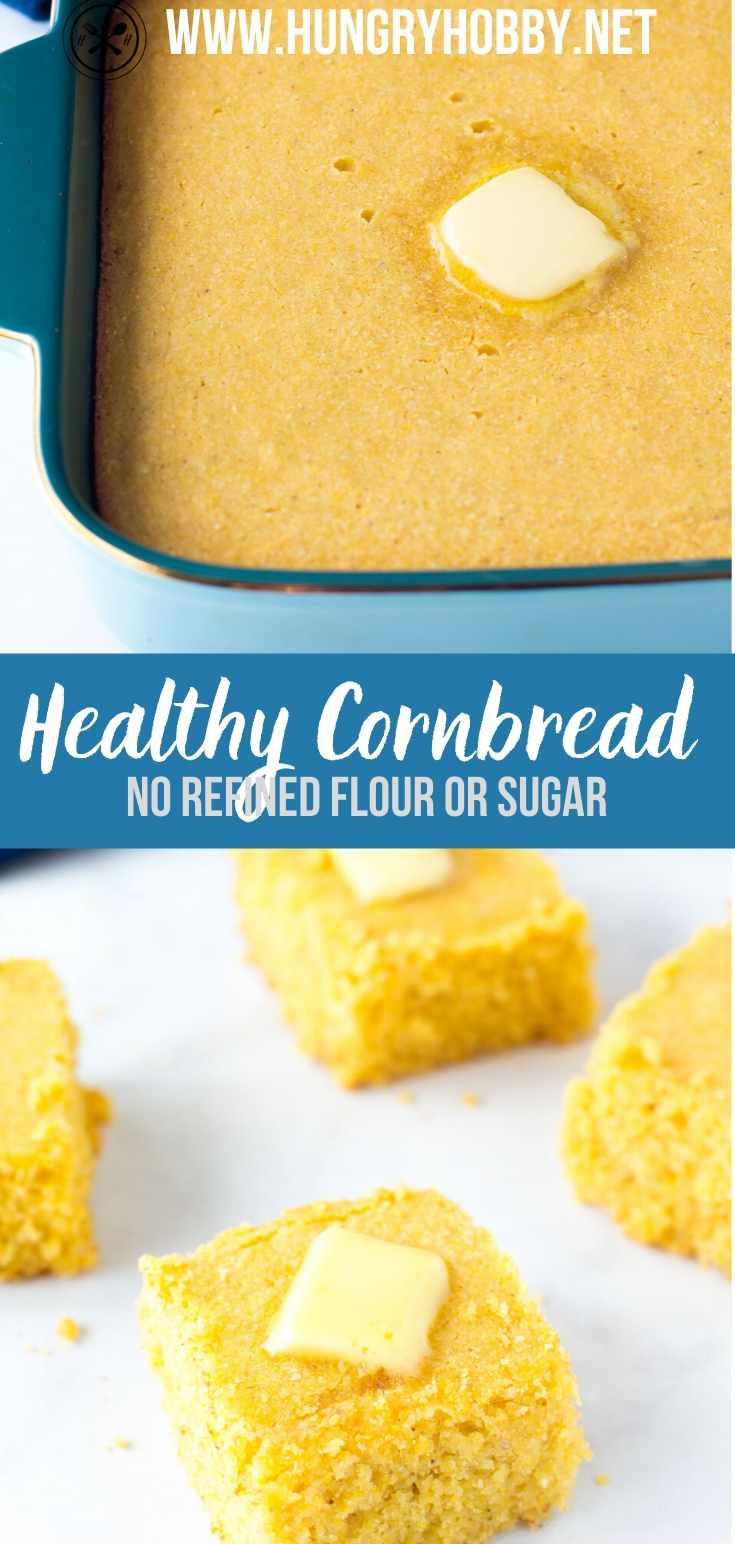 Healthy Cornbread Recipe