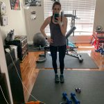 kelli workout at home