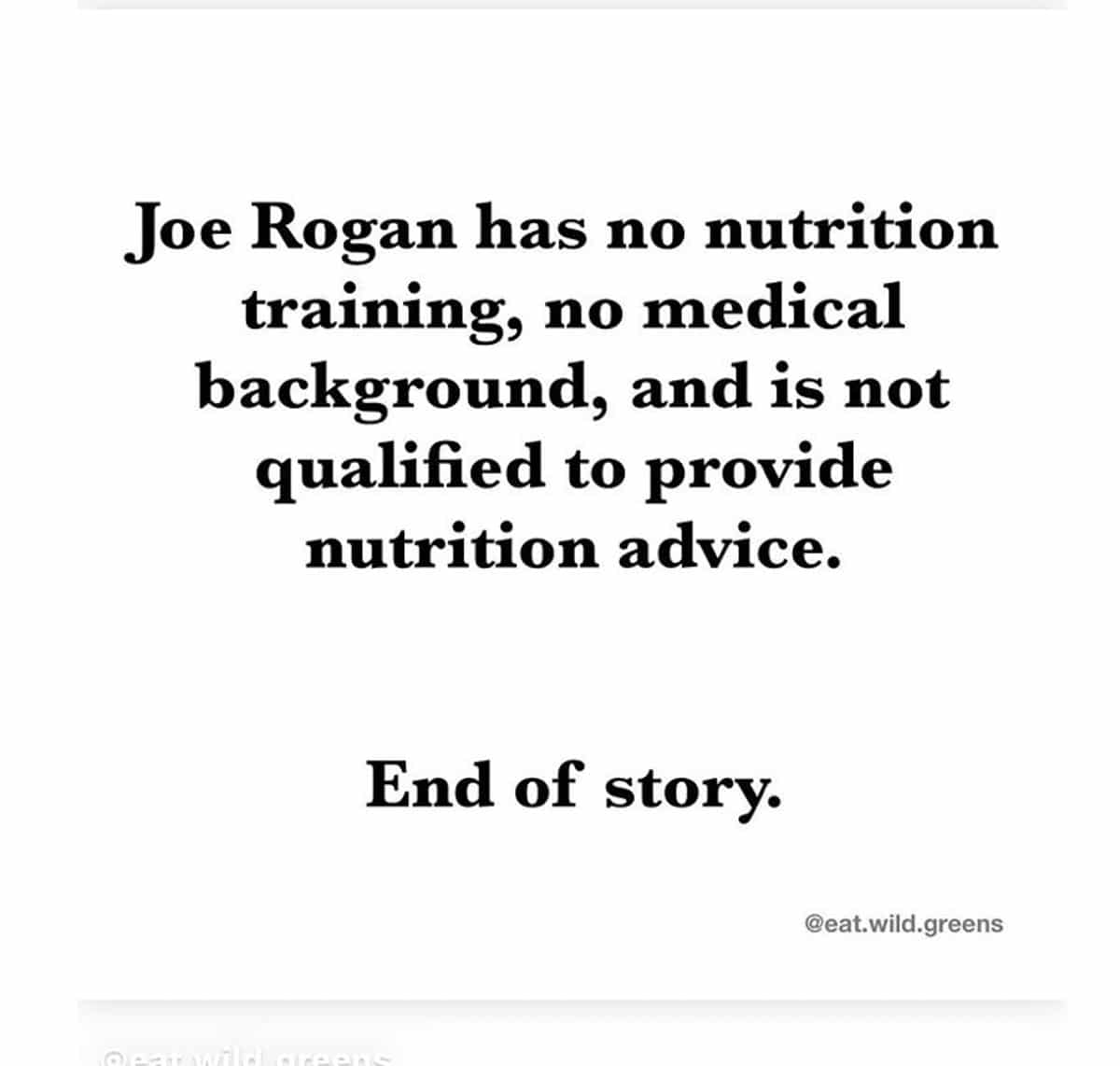 joe rogan no training