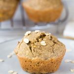 Oat Flour Banana Muffins