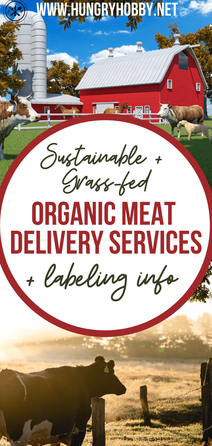 organic meat delivery services pin