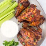Dry Rub Air Fryer Wings-