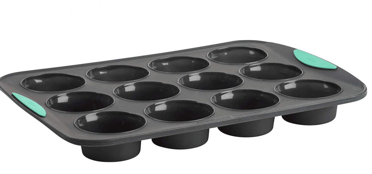 silicone muffin tin