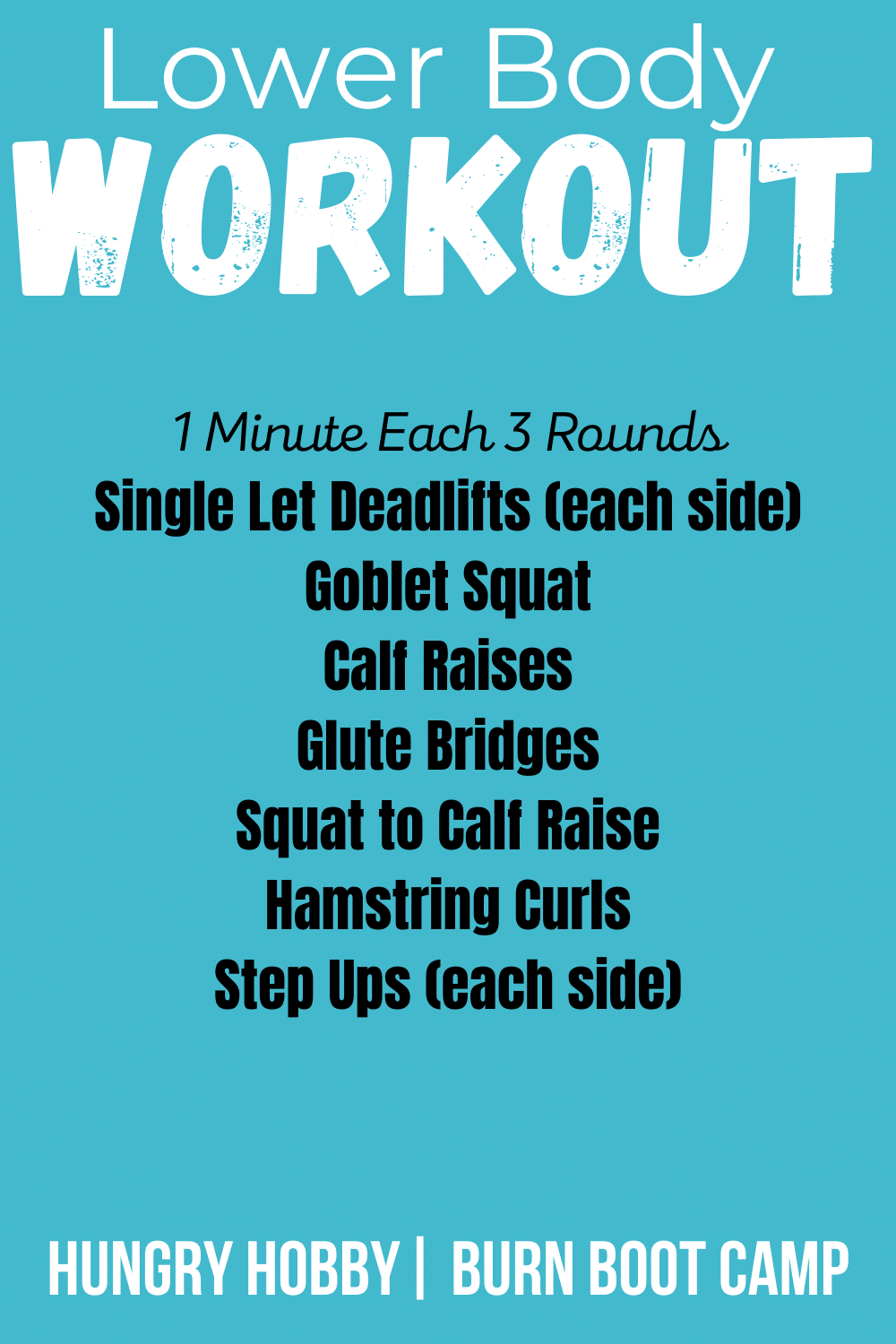 text of 30 minute workout