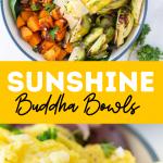 sunshine bowls eggs and roasted veggies pin