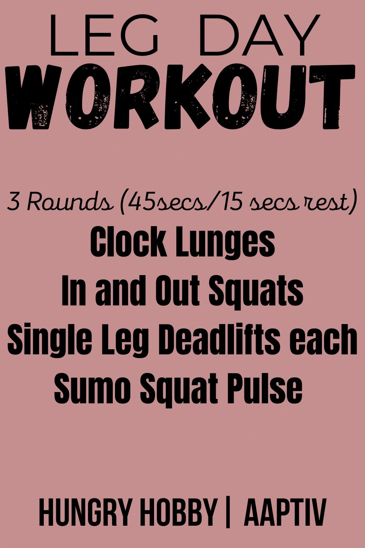 leg workout pinterest pin pink back ground