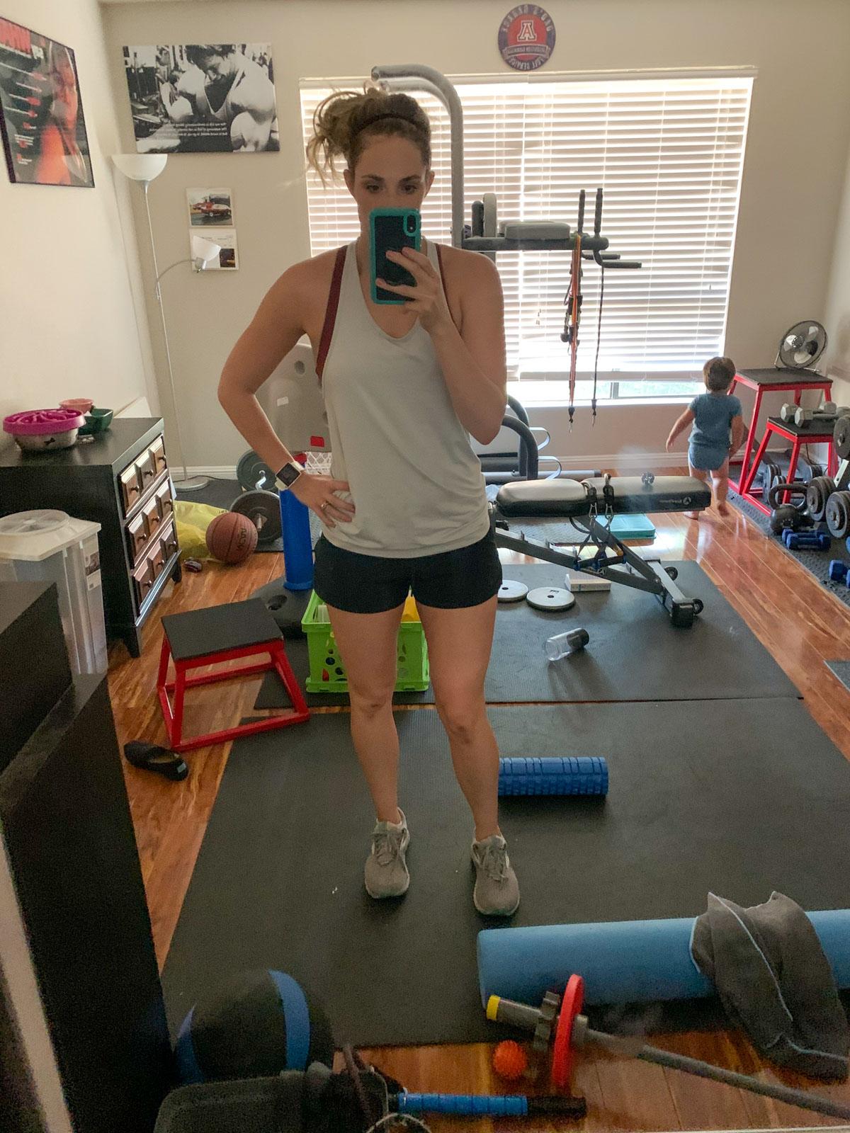 post workout kelli