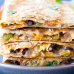 southwest chipotle quesadillas