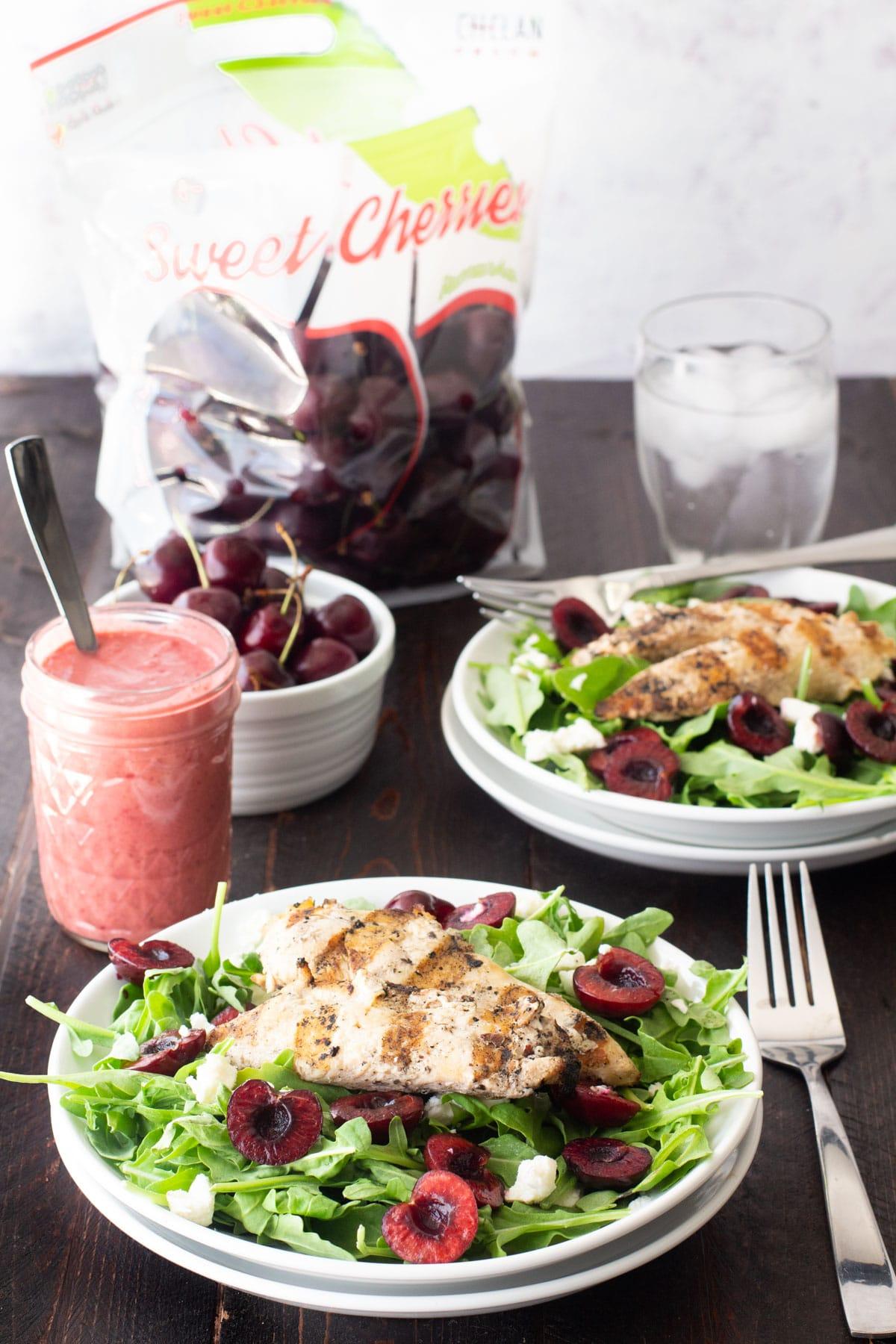 fresh cherry salads