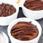 healthy chocolate mug cakes