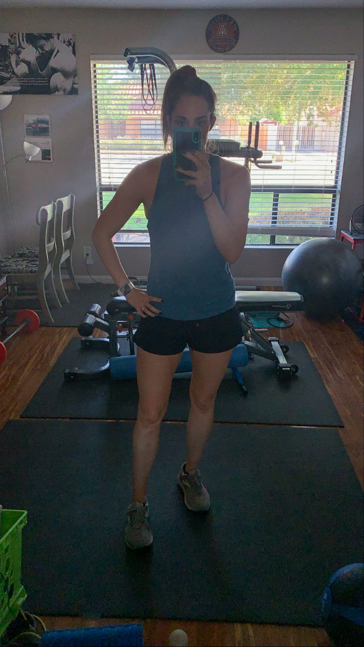 kelli workout photo