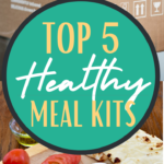 meal kit delivery PIN with box and example food