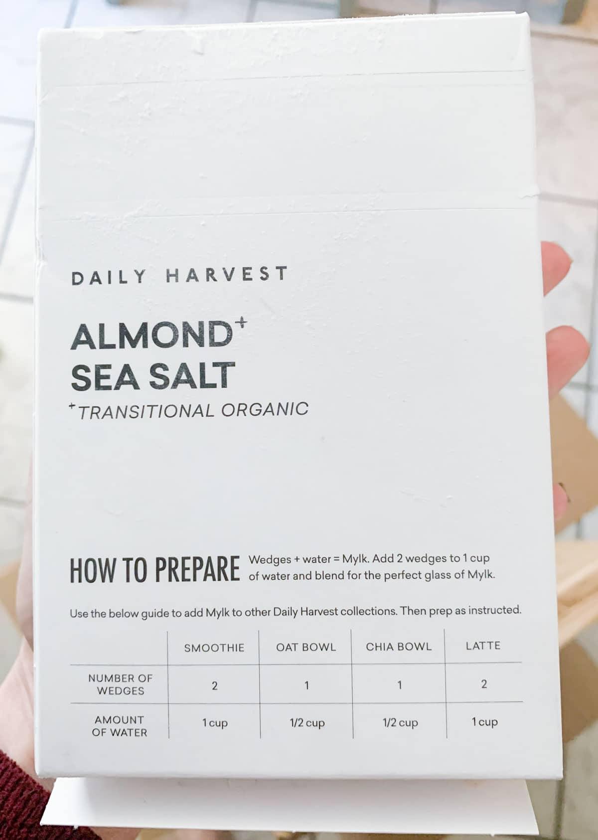 mylk daily harvest