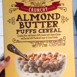 TJs almond butter cereal
