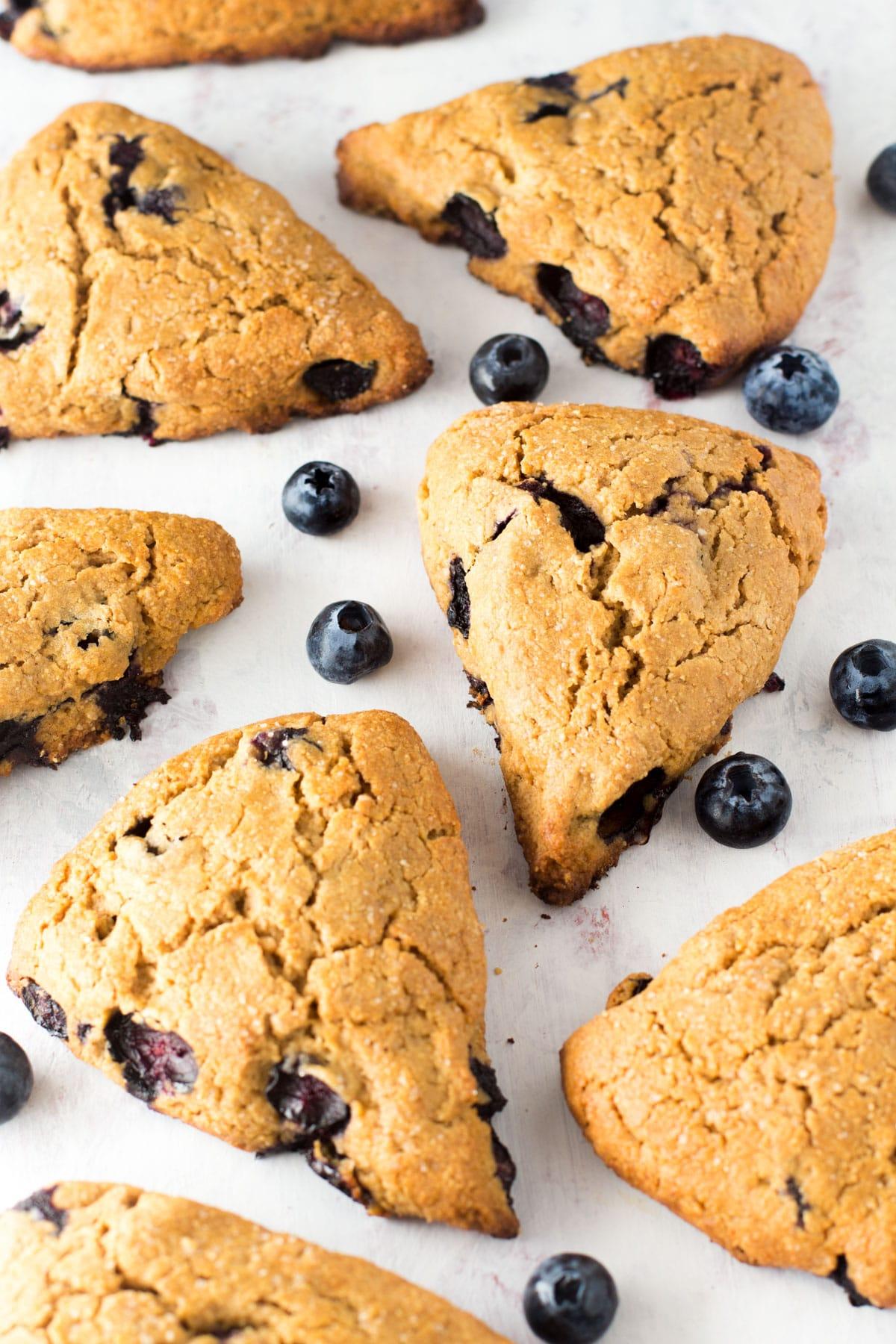 oat flour scones