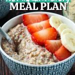 six week anti-inflammatory meal plan PIN