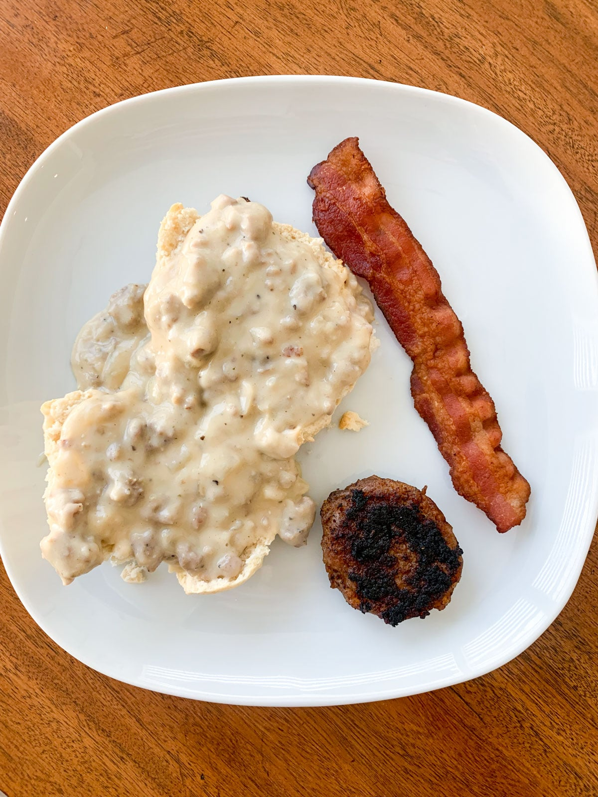 dairy free biscuits and gravy